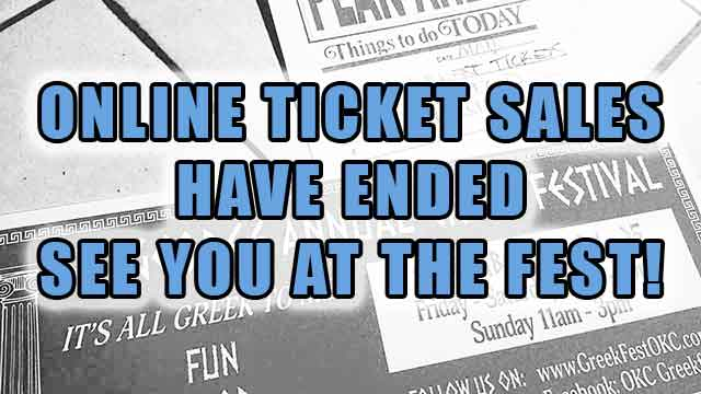 Online Ticket Sales have Ended